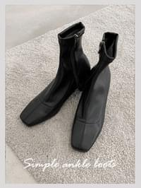 Simple Ankle Boots