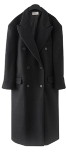 boxy wool double coat (3colors)