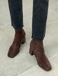 Crumble warm ankle boots_C