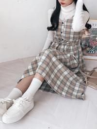 Checkdate bustier dress