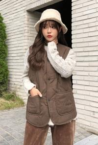 Quilted Quilted Vest