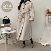 Polo Wool Long Coat