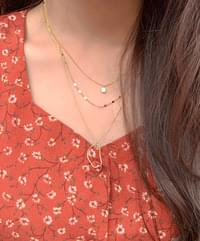 Muds layered necklace