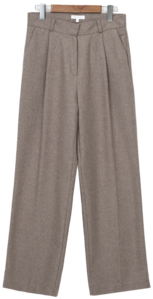 Fan wide wool slacks_C (size : S,M)