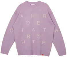 Heart Pattern Knit