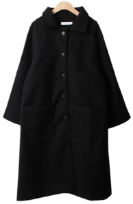 Grip Button Wool Single Coat