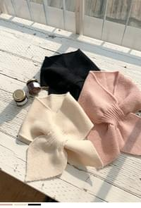 Lovely end plate king knit scarf