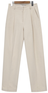 Dade cotton pintuck pants_A