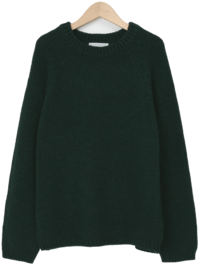 Melting wool round knit_C (size : free)