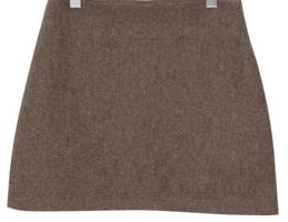 Brownie wool mini skirt_J (size : S,M)