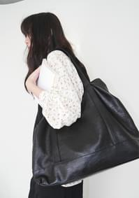 crack leather big bag
