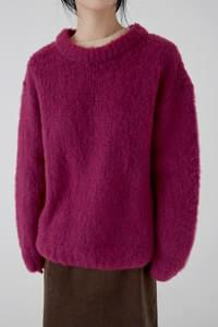 oversized colorful sweater (2colors)