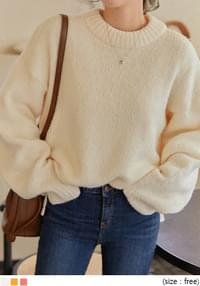 SANDS WOOL LOOSE FIT ROUND KNIT