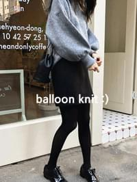 Nine Balloon Knit
