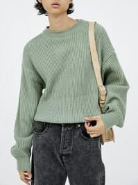 doubleness round knit (5 color) - men