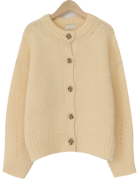 Bliss wool knit cardigan_U (size : free)