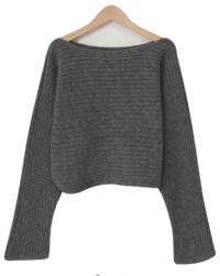 Keats loose wool knit_E (size : free)