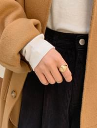 Matt vintage bold ring_C