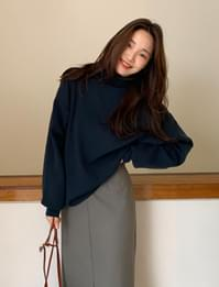 Howell wool pola knit_C (size : free)