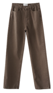 natural washing maxi pants