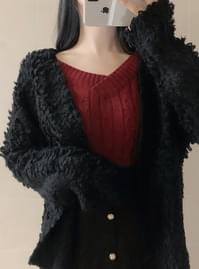 Mongle bubble cardigan