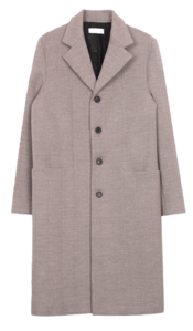 Herringbone single coat 大衣外套
