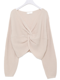 Belly Shearing Knit