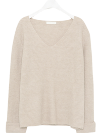 Easy V-neck Knit
