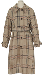 Mondry wool check coat_N (size : free)