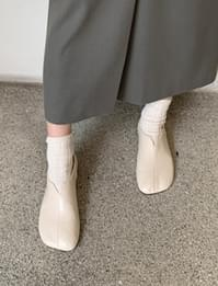 Mote slit flat shoes_C