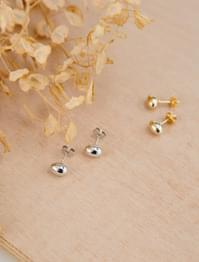 Miniball pin earrings