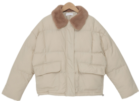 Trude fur collar padding_C