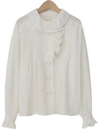 Hering double button blouse_A