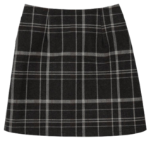 Binz check mini skirt 裙子