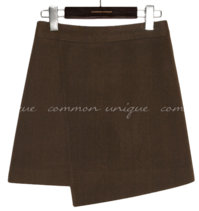 JOEN WOOL UNBAL MINI SKIRT