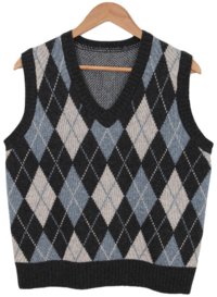 ☆ Nojinjin special price ☆ Lamb diamond knit vest 開襟衫 & 背心