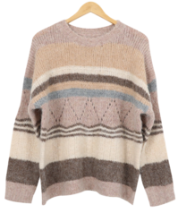 Terra Color Wool Knit