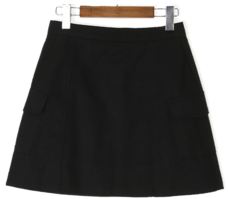 Cargo pocket skirt
