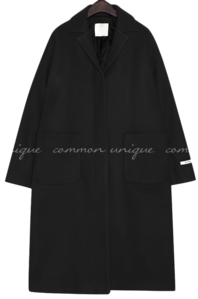 PROD WOOL SINGLE LONG COAT 大衣外套