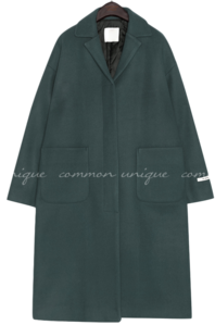 PROD WOOL SINGLE LONG COAT