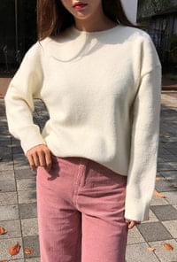 Cotton Candy Round Knit