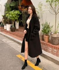 Simply long coat