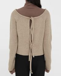 feminine mood two way knit