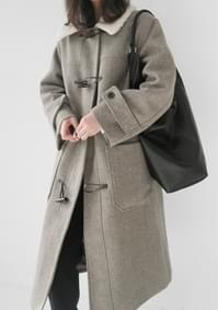 dumble detail duffel coat (2colors)