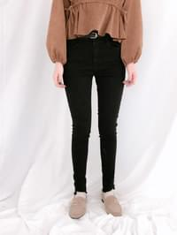 083 high brushed skinny jeans