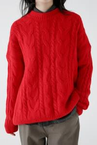 smooth bulky sweater (4colors)