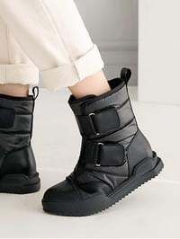 Riento Velcro padded boots 3cm