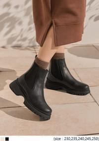 VERNON CHUNKY CHELSEA BOOTS