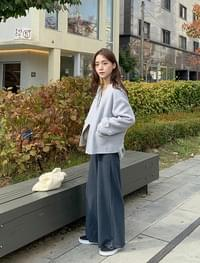 Cathy wide knit pants