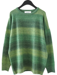 pop colors gradation knit